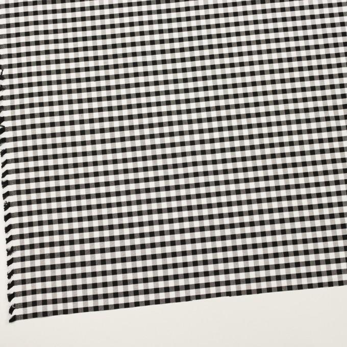 コットン×チェック(ブラック)×オックスフォード イメージ2