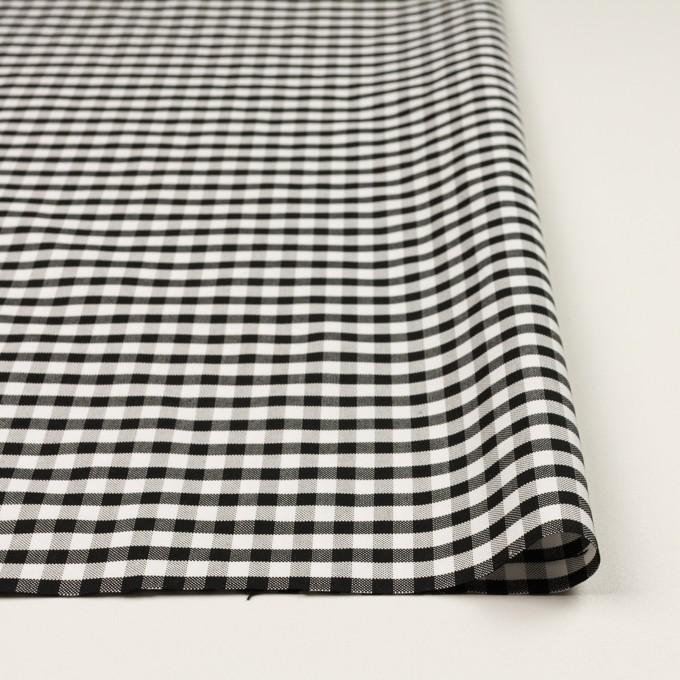 コットン×チェック(ブラック)×オックスフォード イメージ3