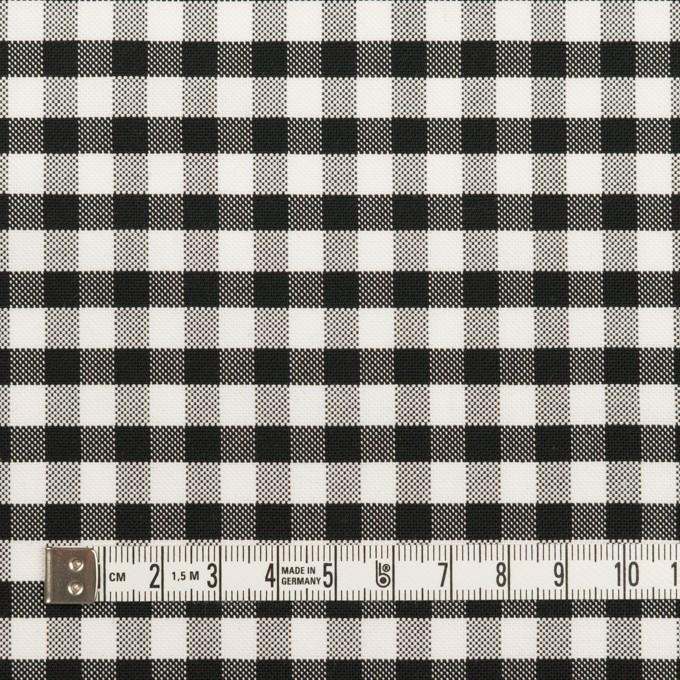 コットン×チェック(ブラック)×オックスフォード イメージ4