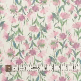 シルク×フラワー(ピンク)×クレープジョーゼット_全2色 サムネイル4