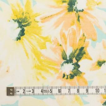 コットン×フラワー(エメラルド)×ボイル_全3色 サムネイル4