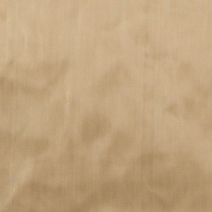 ポリエステル×無地(ブロンズ)×オーガンジー・ワッシャー_全4色 イメージ1