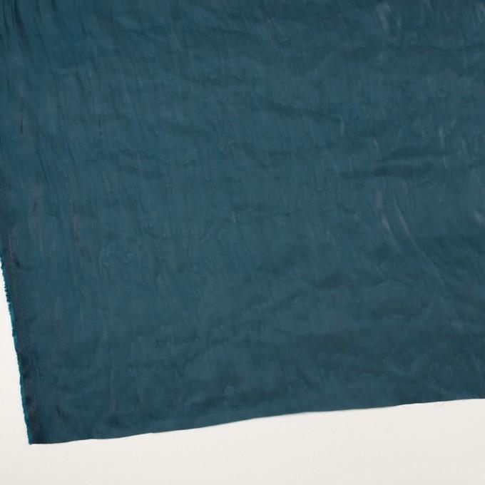ポリエステル×無地(バルビゾンブルー)×オーガンジー・ワッシャー_全4色 イメージ2