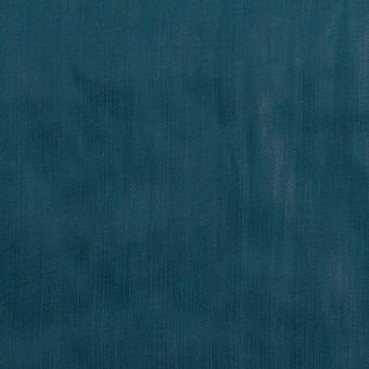 【110cmカット】ポリエステル×無地(バルビゾンブルー)×オーガンジー・ワッシャー_全4色