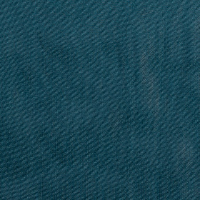 ポリエステル×無地(バルビゾンブルー)×オーガンジー・ワッシャー_全4色 イメージ1