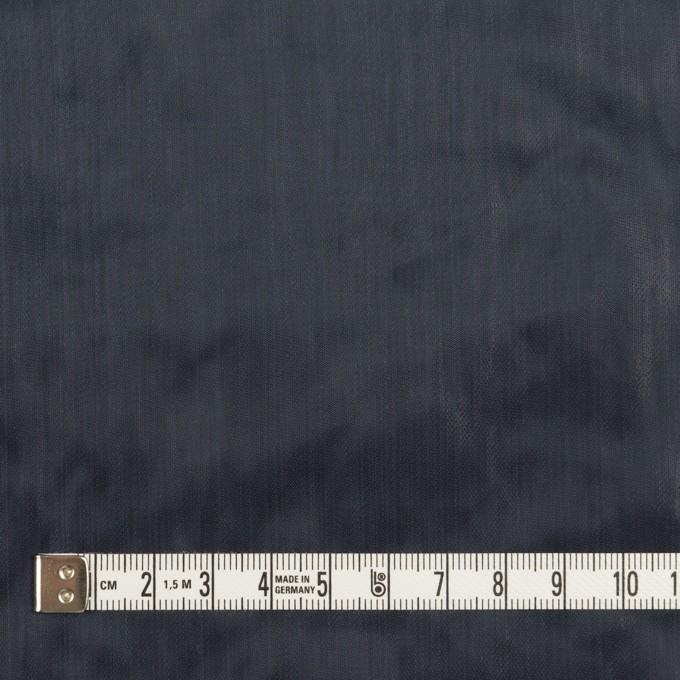 ポリエステル×無地(ネイビー)×オーガンジー・ワッシャー_全4色 イメージ4