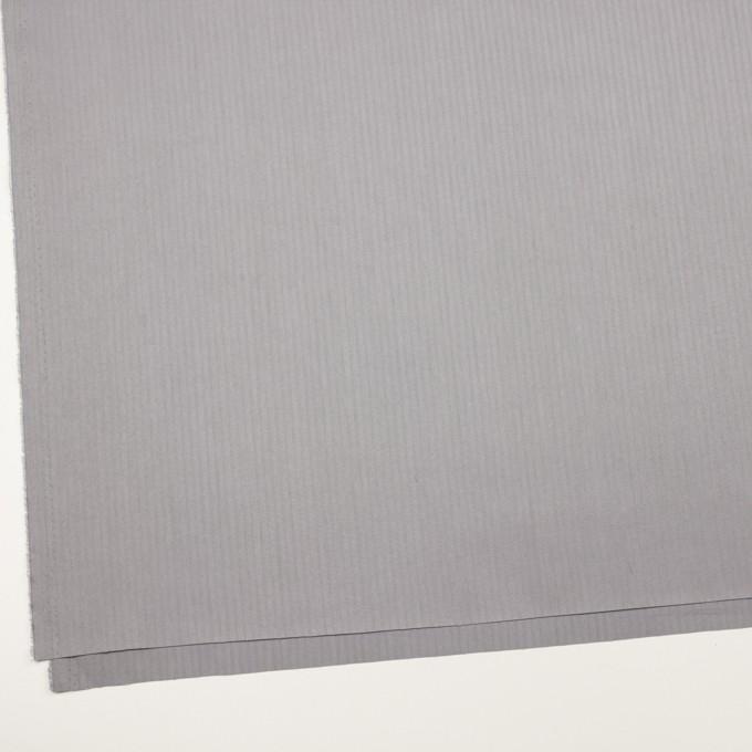 コットン×無地(スチールグレー)×ヘリンボーン イメージ2
