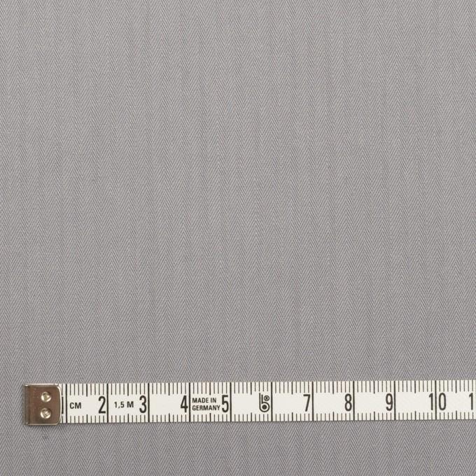コットン×無地(スチールグレー)×ヘリンボーン イメージ4