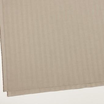 コットン&ポリエステル混×無地(カーキベージュ)×ヘリンボーン・ストレッチ_全3色 サムネイル2