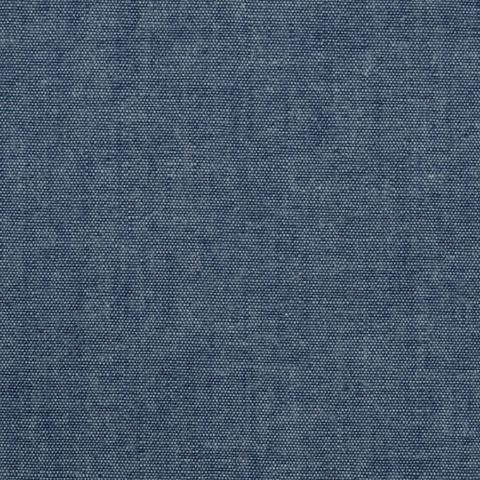 コットン×無地(インディゴブルー)×ダンガリー・ワッシャー_全2色 イメージ1