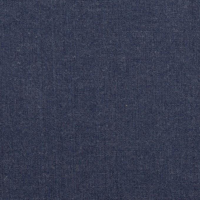 コットン×無地(インディゴブルー)×ダンガリー イメージ1