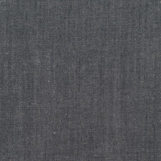 コットン&ナイロン×無地(アッシュネイビー)×シャンブレー イメージ1