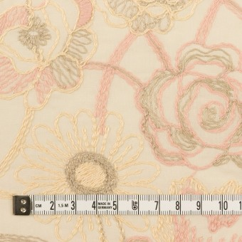 コットン×フラワー(エクリュ)×ローン刺繍 サムネイル4