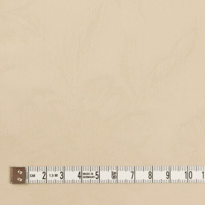 コットン×フラワー(ライトベージュ)×ローンジャガード イメージ4