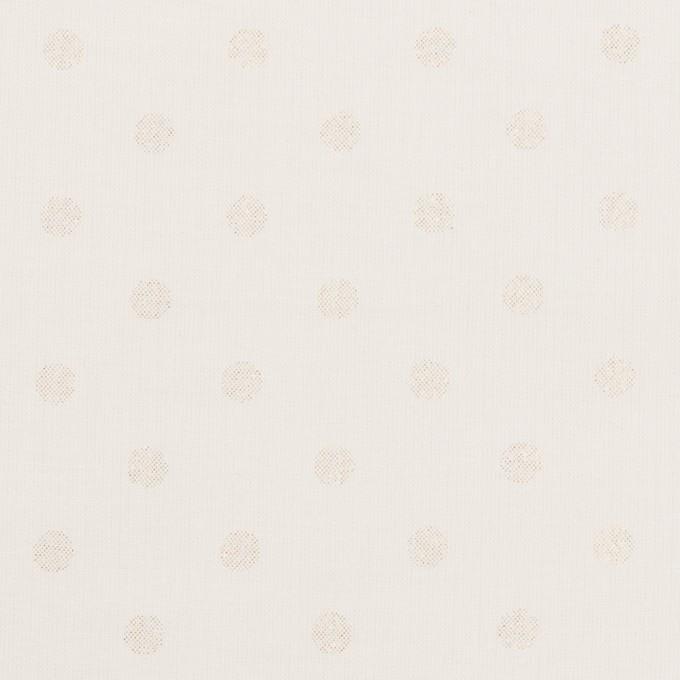 コットン×ドット(オフホワイト)×ローン_全2色 イメージ1