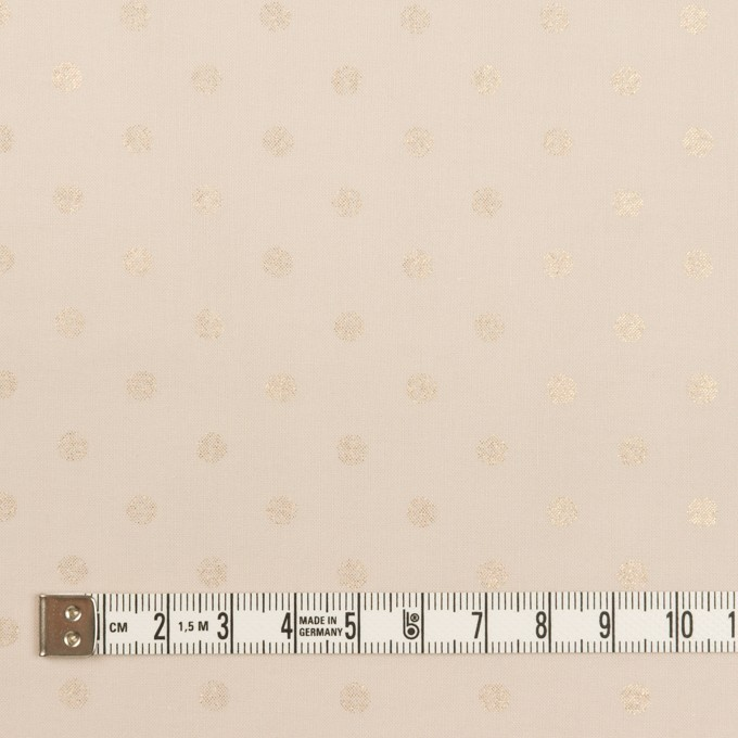 コットン×ドット(ピンクベージュ)×ローン_全2色 イメージ4