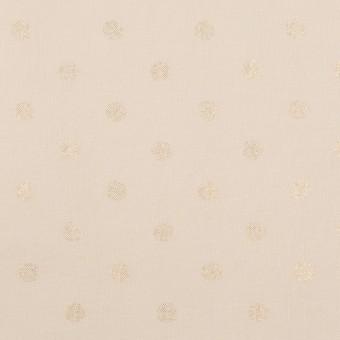 コットン×ドット(ピンクベージュ)×ローン_全2色