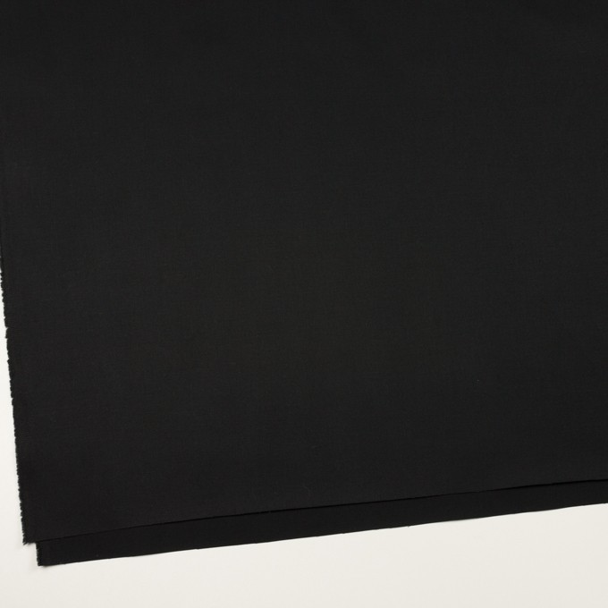コットン×無地(ブラック)×サージ_全6色 イメージ2