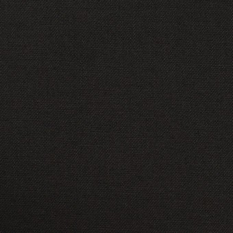 コットン×無地(ブラック)×サージ_全6色 サムネイル1