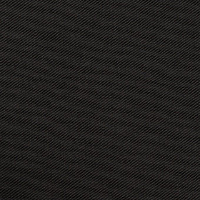 コットン×無地(ブラック)×サージ_全6色 イメージ1