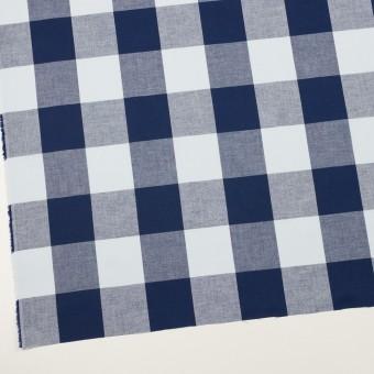 コットン×チェック(ペールブルー&ネイビー)×ブロード_全2色 サムネイル2