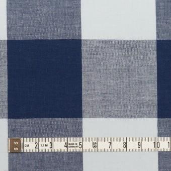 コットン×チェック(ペールブルー&ネイビー)×ブロード_全2色 サムネイル4