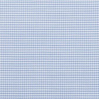 コットン×ミックス(ブルー)×斜子織