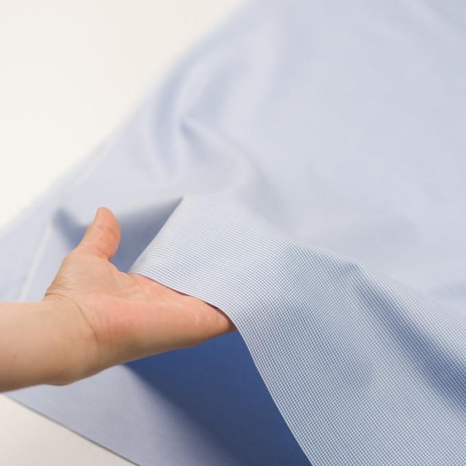 コットン×ミックス(ブルー)×斜子織 イメージ5