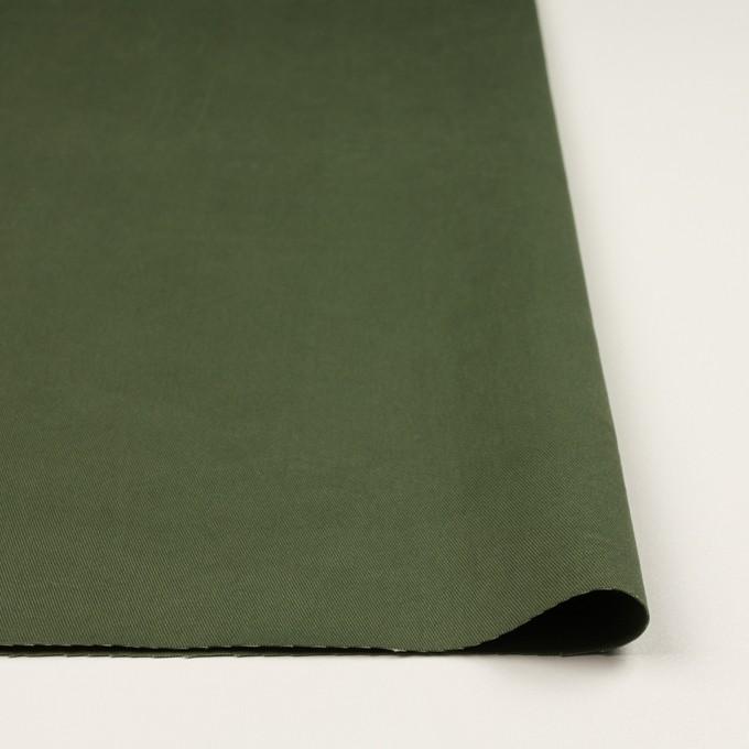 コットン×無地(カーキグリーン)×チノクロス・ワッシャー_全3色 イメージ3