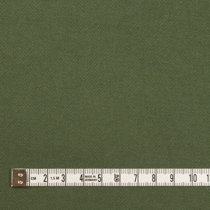 コットン×無地(カーキグリーン)×チノクロス・ワッシャー_全3色 イメージ4