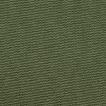 コットン×無地(カーキグリーン)×チノクロス・ワッシャー_全3色
