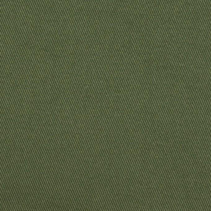 コットン×無地(カーキグリーン)×チノクロス・ワッシャー_全3色 イメージ1