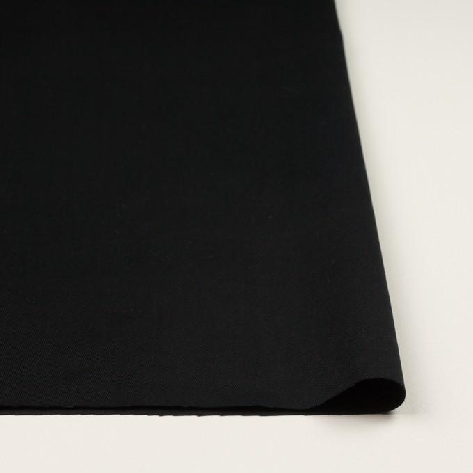 コットン×無地(ブラック)×チノクロス・ワッシャー_全3色 イメージ3