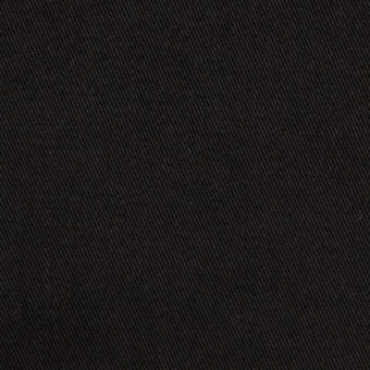 コットン×無地(ブラック)×チノクロス・ワッシャー_全3色