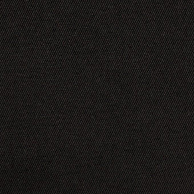 コットン×無地(ブラック)×チノクロス・ワッシャー_全3色 イメージ1