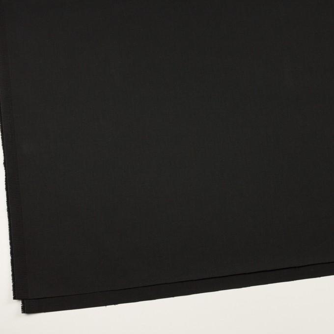 コットン&ポリウレタン×無地(ブラック)×チノクロス・ストレッチ_全2色 イメージ2