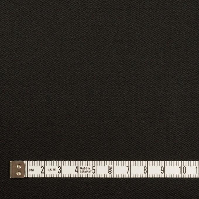 コットン&ポリウレタン×無地(ブラック)×チノクロス・ストレッチ_全2色 イメージ4
