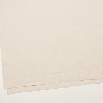 ポリエステル&レーヨン混×無地(バニラ)×ファンシーツイード_全2色 サムネイル2