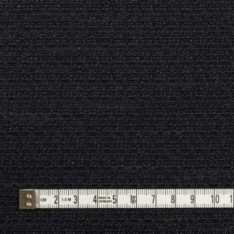 ポリエステル&レーヨン混×無地(ネイビー)×ファンシーツイード_全2色 サムネイル4