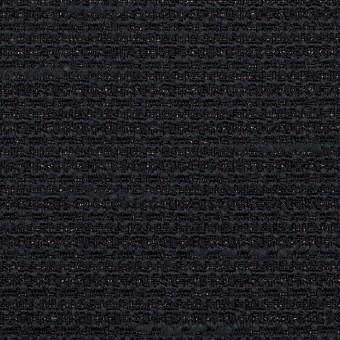 ポリエステル&レーヨン混×無地(ネイビー)×ファンシーツイード_全2色 サムネイル1