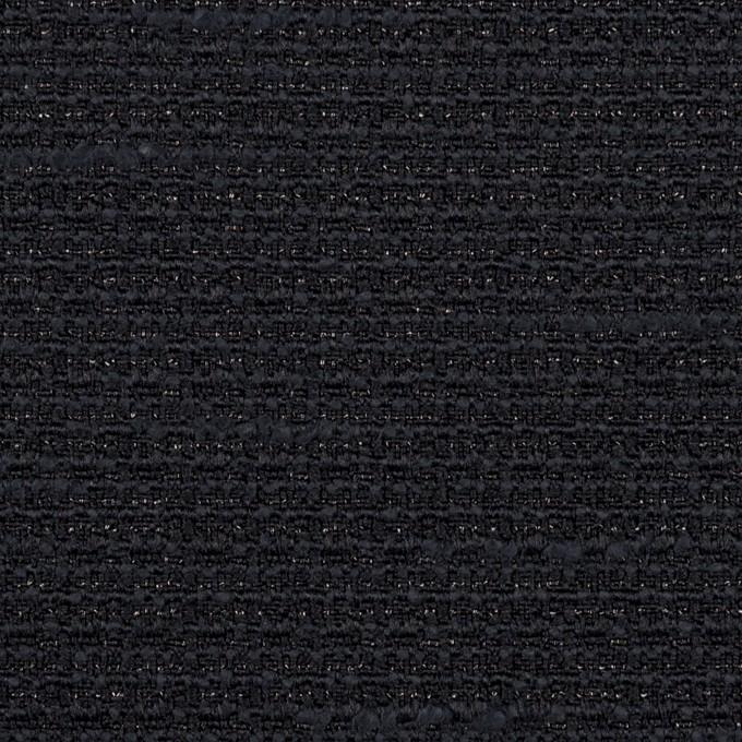 ポリエステル&レーヨン混×無地(ネイビー)×ファンシーツイード_全2色 イメージ1
