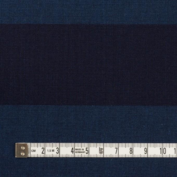 コットン×ボーダー(インディゴ)×キャンバス イメージ4