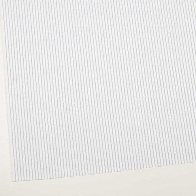 コットン×ストライプ(サックス)×ジャガード イメージ2