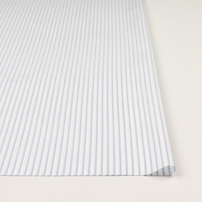 コットン×ストライプ(サックス)×ジャガード イメージ3