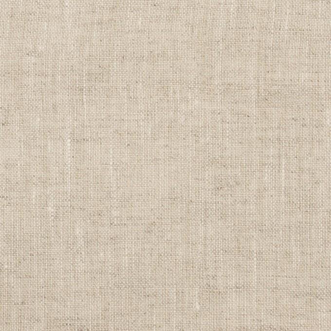 リネン×無地(グレイッシュベージュ)×薄キャンバス・ワッシャー イメージ1