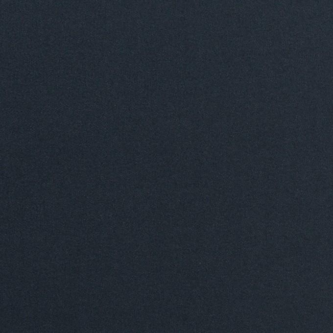 コットン×無地(ダークネイビー)×サテン_全6色 イメージ1
