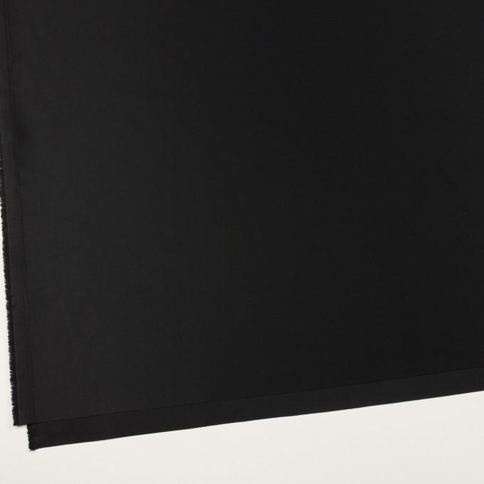 コットン×無地(ブラック)×サテン_全6色 イメージ2