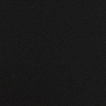 コットン×無地(ブラック)×サテン_全6色 サムネイル1