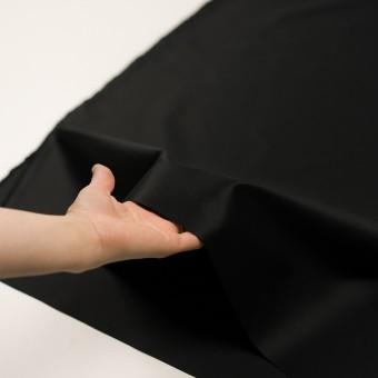 コットン×無地(ブラック)×サテン_全6色 サムネイル5