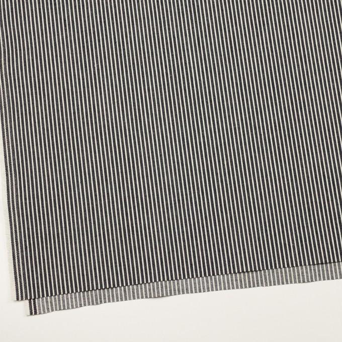 コットン×ストライプ(インディゴ&キナリ)×デニムヒッコリー(10.5oz) イメージ2